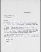 Letter from MG to John Middleton, 29 Oct. 1973