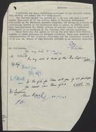 Memo to F.H. Lancum re: Press Conference on Emergency Economic Committee for Europe and Food Conference, July 11, 1946