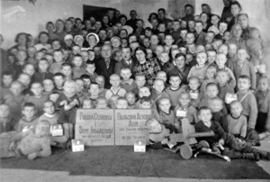 22.10.1940, USSR. Polish Orphanage and Disabled People's home.
