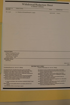 Clinton Library Withdrawal/Redaction Sheet from Clinton Presidential Records, NSC Records Management, ([Steinberg & Rwanda]), Box 480, Folder [9407034]