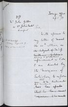 Draft Letter from Foreign Office to John Gildea re: Consul General in Havana Has Been Asked to Look into William Gildea Case, April 22, 1897