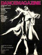 Dance Magazine, Vol. 44, no. 2, February, 1970