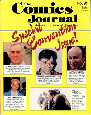 The Comics Journal, no. 91