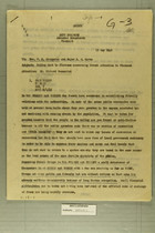 Memo from Aldo L. Icardi to Mar. V. J. Scampoino and Major B. M. Corvo, May 15, 1945