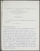 Journal of the Congo expedition, 1908, Volume 4, 1 June 1908-15 Aug. 1908: Kole, Lodja, journey to the Akela and return