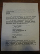Stanley Milgram to Postmaster General, Singapore, Malaysia, June 1, 1964