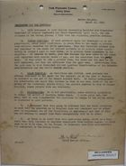 Memorandum from J. F. Siler for Governor Schley, March 10, 1933
