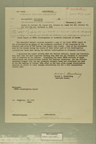 Final Report of UNTSO Investigation of Jordanian Complaint on Azazme, November 2, 1959