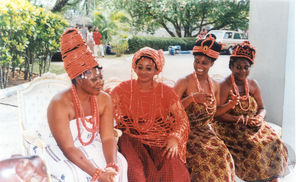 Stills from the feature film <i>Wazobia!</i> by Osonye Tess Onwueme (based on the play <i>The Reign of Wazobia</i>), 2000