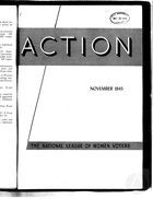 Action, vol. 1 no. 7, November 1945