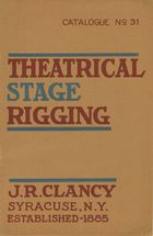 Catalogue of Theatrical Stage Rigging, no. 31