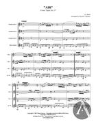 Air, BWV 1068, D Major