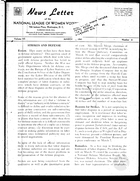 News Letter, vol. 7 no. 6, March 23, 1941