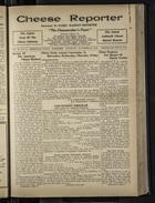 Cheese Reporter, Vol. 55, no. 12, Saturday, November 29, 1930