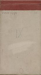Malaya Field Notes IX