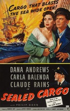 Sealed Cargo (1951): Shooting script
