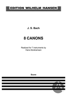 8 Canons, BWV 1072-1078 and BWV deest