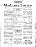 Bulletin, vol. 3 no. 1, May 1929
