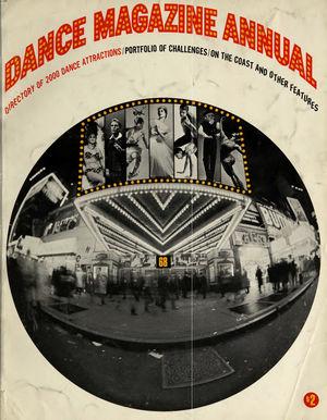 Dance Magazine Annual, 1968