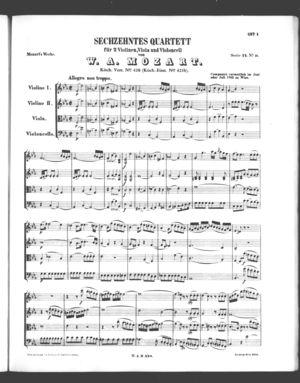 Sechzehntes Quartett