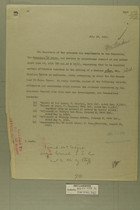 Memo to the Secretary of State, July 10, 1918