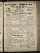 Cheese Reporter, Vol. 55, no. 24, Saturday, February 21, 1931