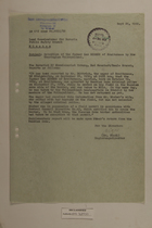 Memo from Dr. Riedl re: Detention of the Farmer Leo Bieber of Breitensee by the Thuringian Volkapolizei, September 26, 1950