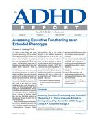 ADHD Report, Volume 20, Number 02, April 2012