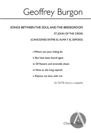 Songs between the Soul and the Bridegroom | Alexander Street, a