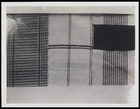 4 textile pieces, 3 woven in stripes with one in solid colours
