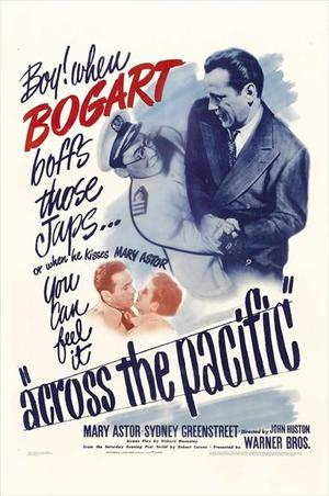 Across the Pacific (1942): Continuity script