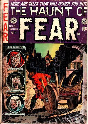 Haunt of Fear no.  21