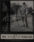 Advertisement Brochure for The 'Bonaped' Walk-Aid