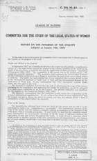 Committee for Study of Legal Status of Women