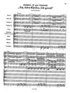 Ach, lieben Christen, seid getrost, BWV 114
