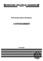 3 Epigrammer