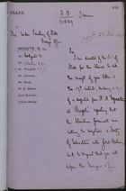 Draft of Letter to Under Secretary of State, Foreign Office, December 23, 1885