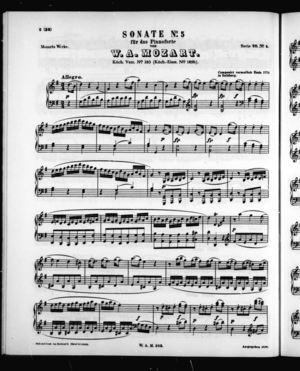 Sonata No. 5 für Pianoforte
