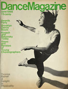 Dance Magazine, Vol. 43, no. 6, June, 1968