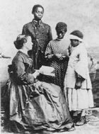 How Did White Women Aid Former Slaves during and after the Civil War, 1863-1891?