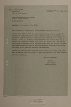 Memo from Dr. Riedl re: Occurrences in the CSR, July 2, 1951
