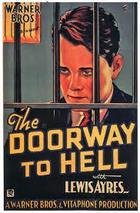 The Doorway to Hell (1930): Shooting script
