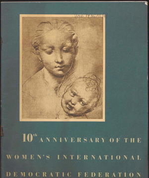 10th Anniversary of the Women's International Democratic Federation