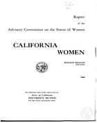 California Women: Report, 1969