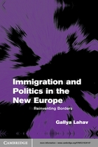 Themes in European Governance, Immigration and Politics in the New Europe: Reinventing Borders