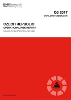 Czech Republic Operational Risk Report: Q3 2017