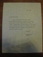 Stanley Milgram to Whom It May Concern, July 1, 1964