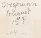 Adam's Breed by Radclyffe Hall, Oregonian, August 15