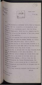 Correspondence re: Interception of German Telegrams, April 4-June 17, 1916