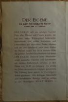 Magnus Hirschfeld Scrapbook: Buch U. Kunst Handlung